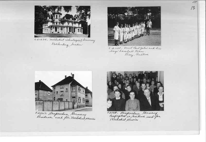 Mission Photograph Album - Europe #10 Page 0013