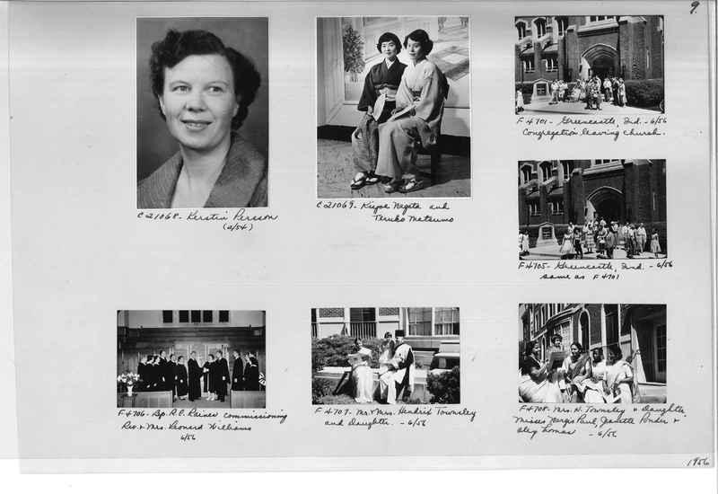 Mission Photograph Album - Portraits #10 Page 0009