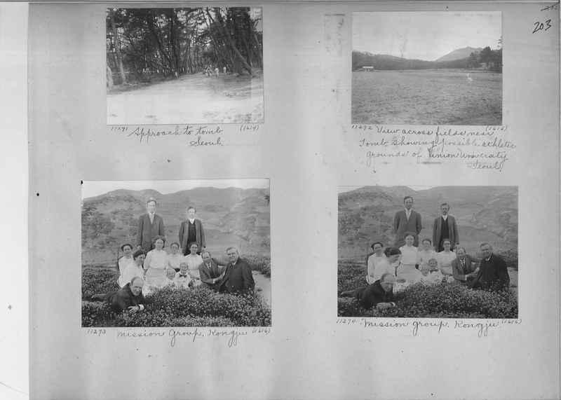 Mission Photograph Album - Korea #1 page 0203