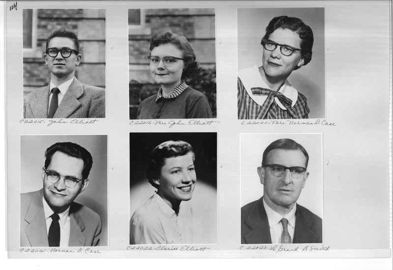 Mission Photograph Album - Portraits #10 Page 0114