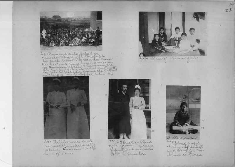 Mission Photograph Album - Korea #1 page 0023