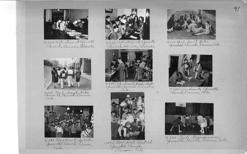 Mission Photograph Album - Cities #18 page 0041