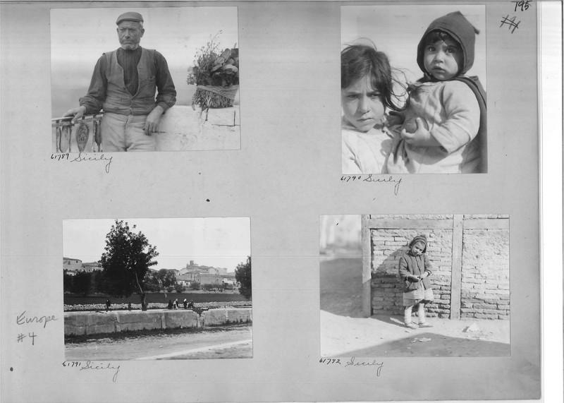 Mission Photograph Album - Europe #04 Page 0195