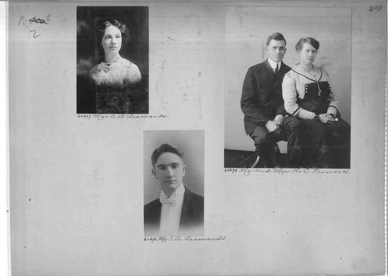 Mission Photograph Album - Portraits #2 page 0202