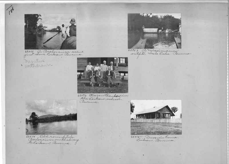 Mission Photograph Album - Burma #1 page 0186
