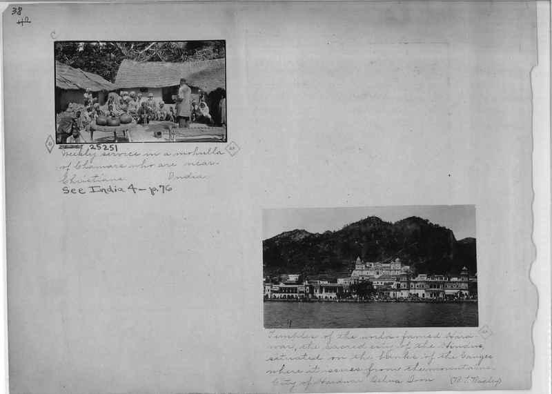 Mission Photograph Album - India - O.P. #01 Page 0038