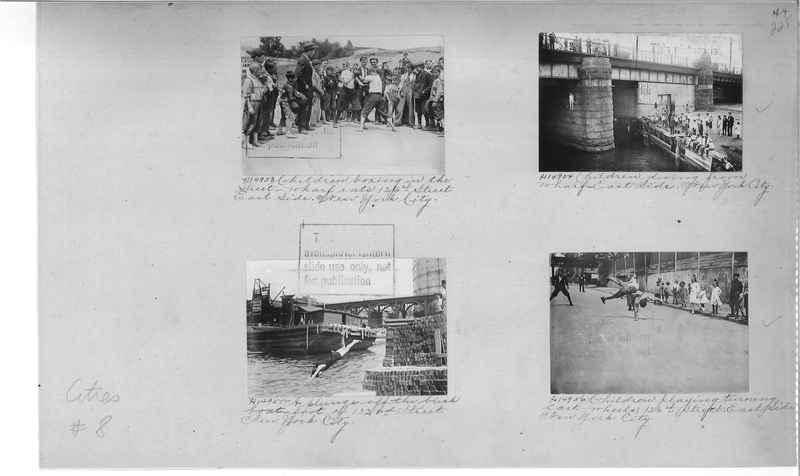 Mission Photograph Album - Cities #8 page 0225