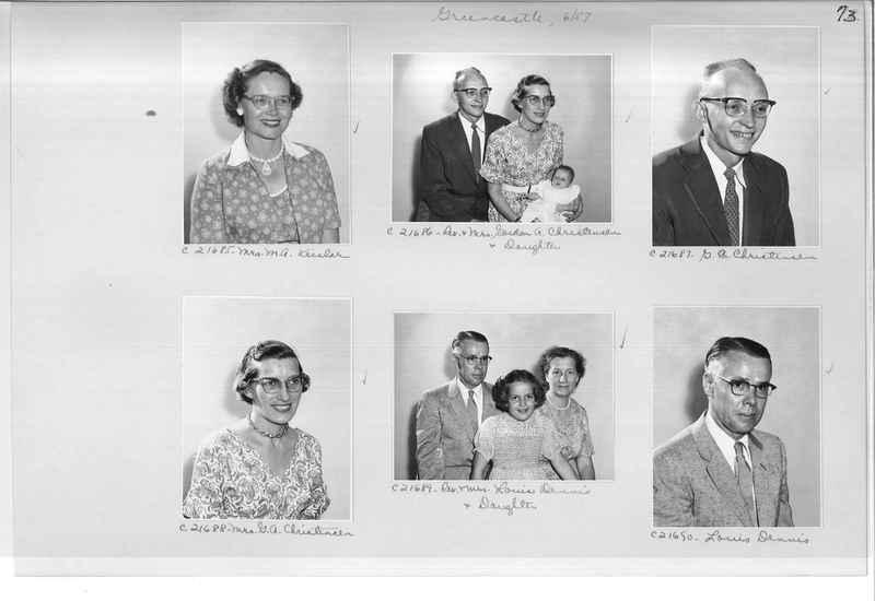 Mission Photograph Album - Portraits #10 Page 0073
