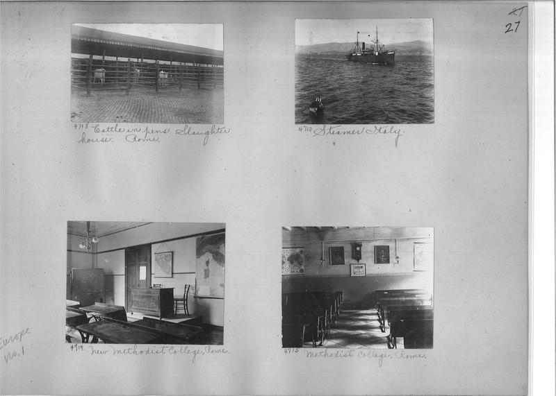 Mission Photograph Album - Europe #01 Page 0027