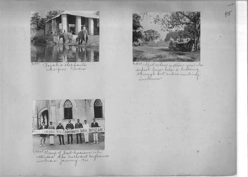 Mission Photograph Album - India #09 Page 0045