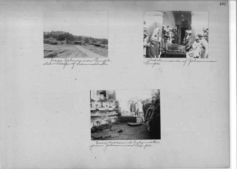 Mission Photograph Album - India - O.P. #01 Page 0201