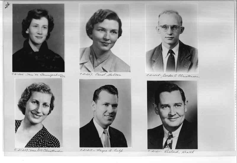 Mission Photograph Album - Portraits #10 Page 0026