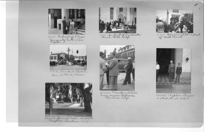 Mission Photograph Album - Latin America #3 page 0001