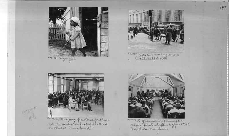 Mission Photograph Album - Negro #6 page 0181