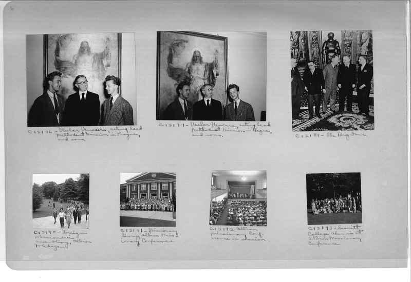 Mission Photograph Album - Portraits #13 Page 0006