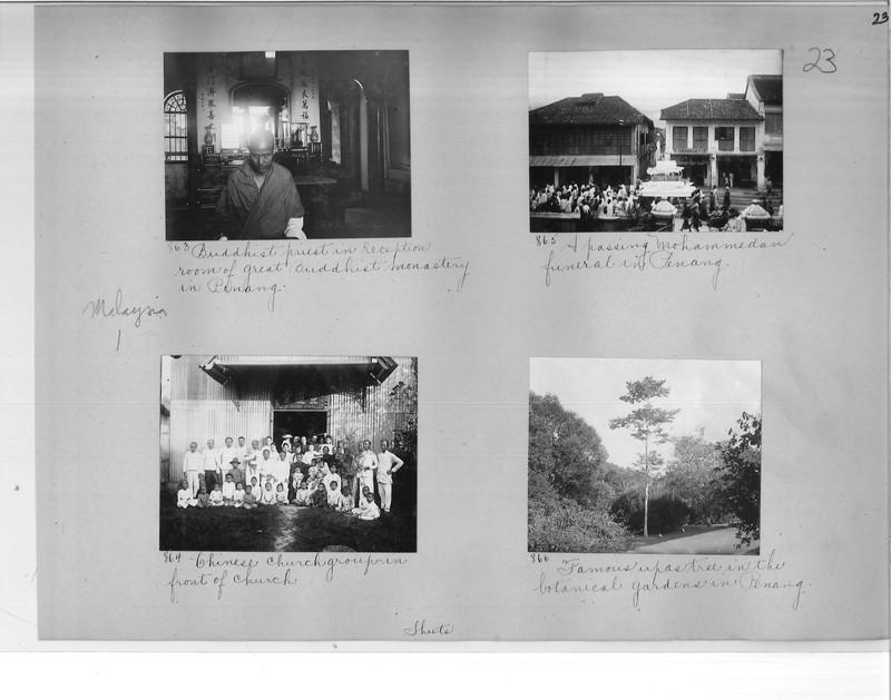 Mission Photograph Album - Malaysia #1 page 0023