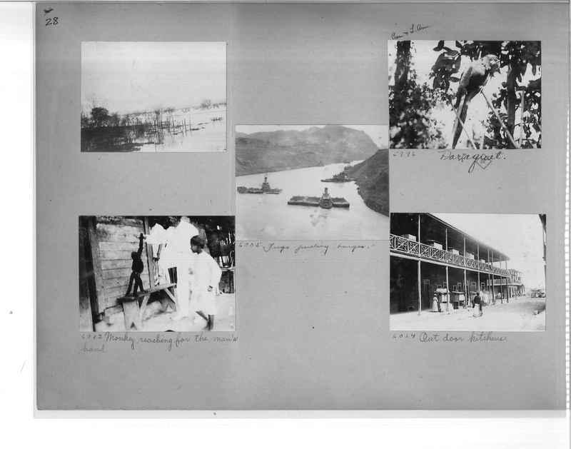 Mission Photograph Album - Panama #1 page  0028