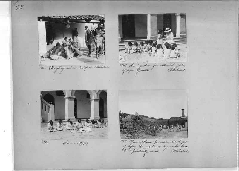Mission Photograph Album - India #09 Page 0078