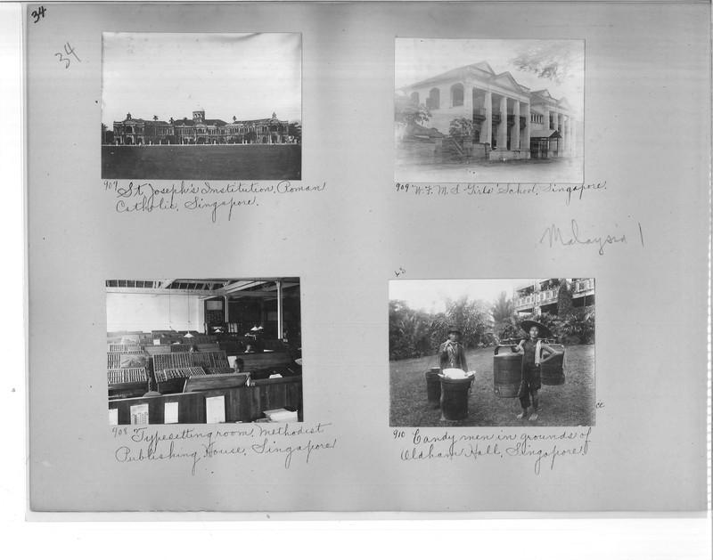 Mission Photograph Album - Malaysia #1 page 0034