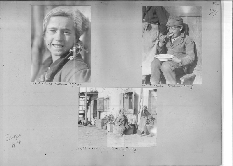Mission Photograph Album - Europe #04 Page 0079