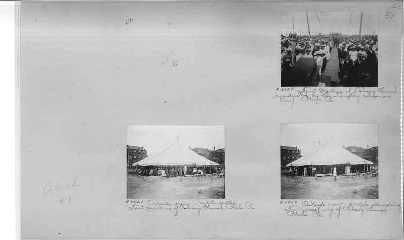 Mission Photograph Album - Negro #1 page 0051