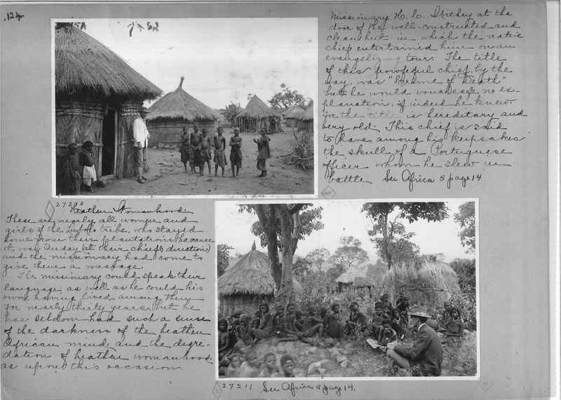 Mission Photograph Album - Africa - Madeira O.P. #1 page 0124