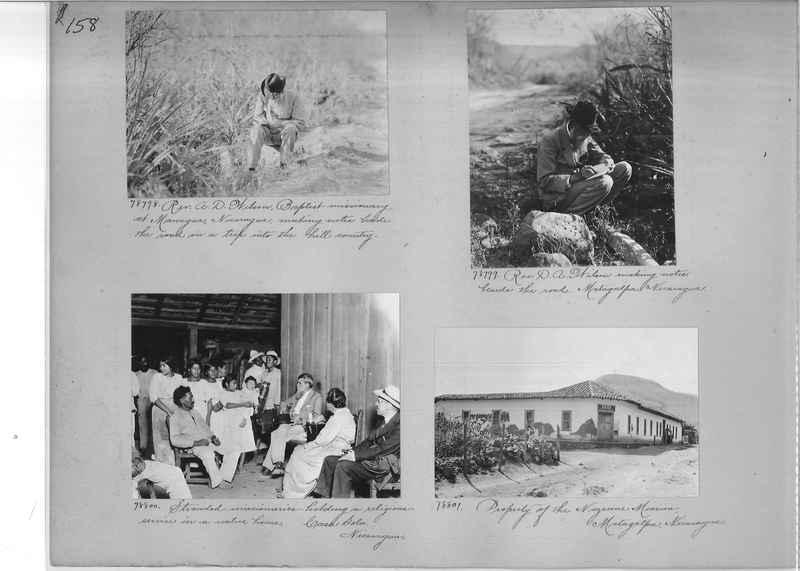 Mission Photograph Album - Panama #04 page 0158