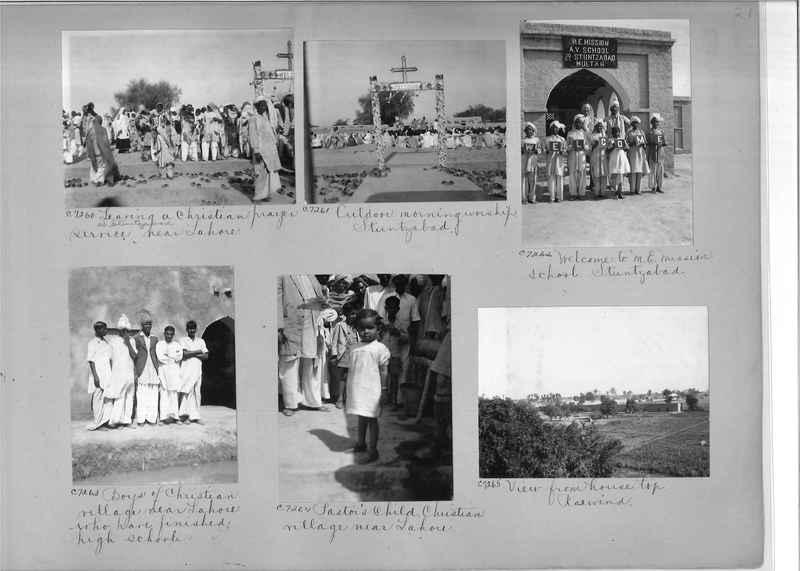 Mission Photograph Album - India #13 Page 0021