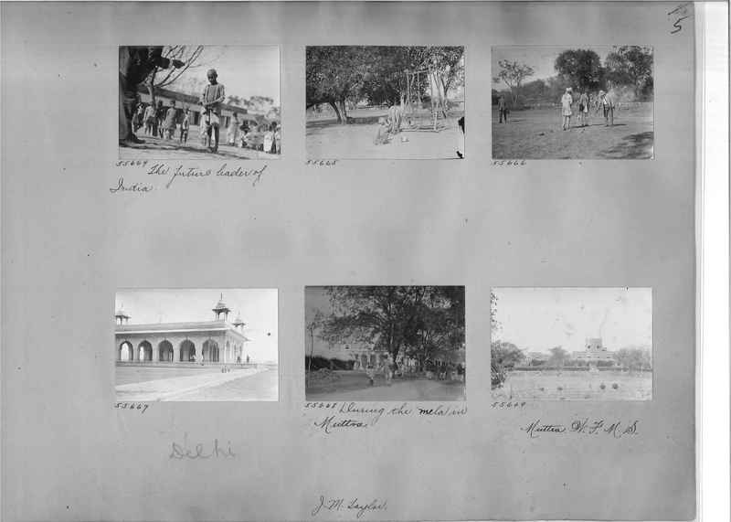 Mission Photograph Album - India #08 Page 0005