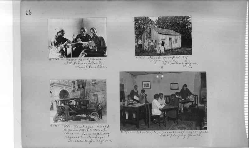 Mission Photograph Album - Negro #3 page 0026