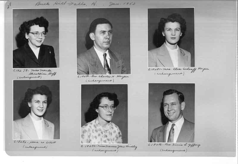 Mission Photograph Album - Portraits #08 Page 0028