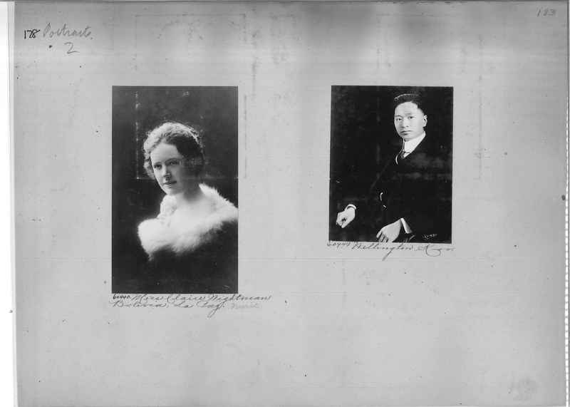 Mission Photograph Album - Portraits #2 page 0178