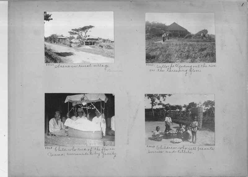 Mission Photograph Album - Burma #2 page 0001