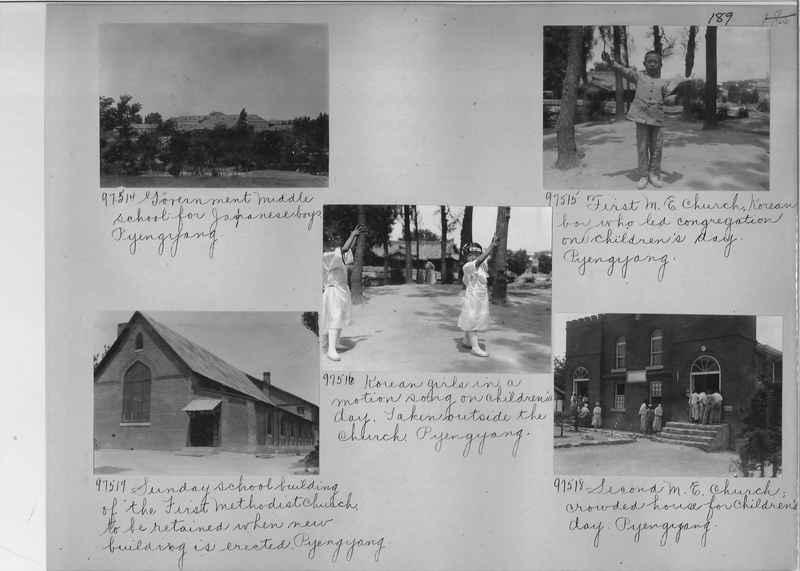 Mission Photograph Album - Korea #5 page 0189