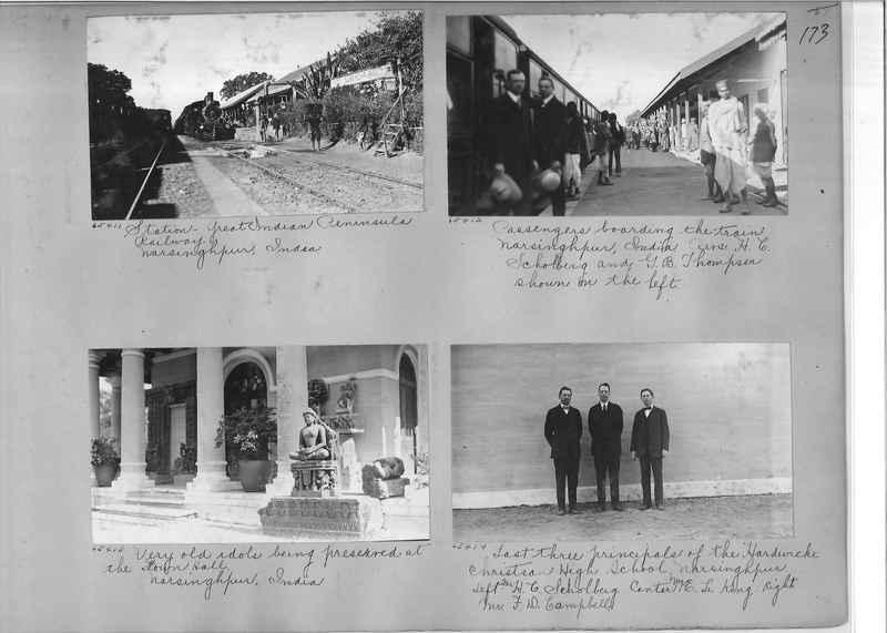 Mission Photograph Album - India #08 Page 0173