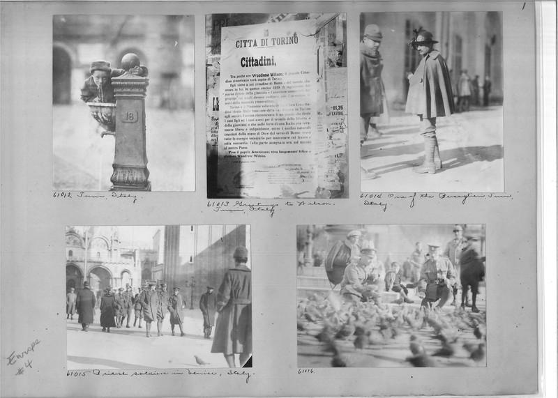 Mission Photograph Album - Europe #04 Page 0001