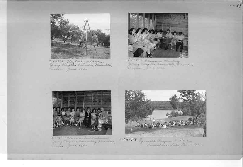 Mission Photograph Album - Religious Education #2 page 0059