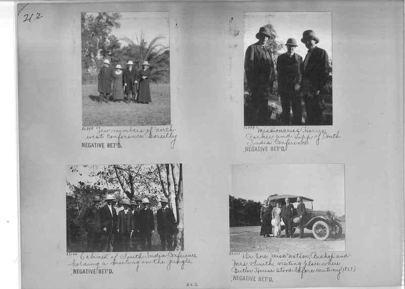 Mission Photograph Album - India #09 Page 0212