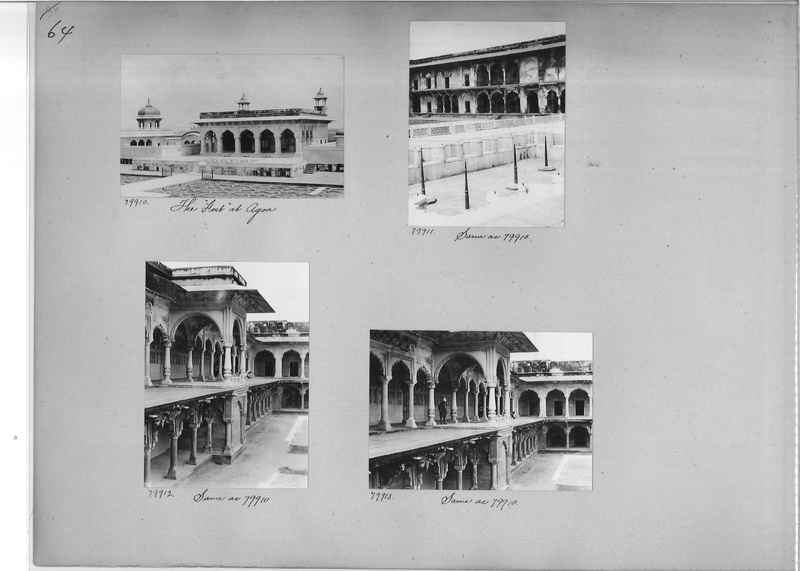 Mission Photograph Album - India #09 Page 0064