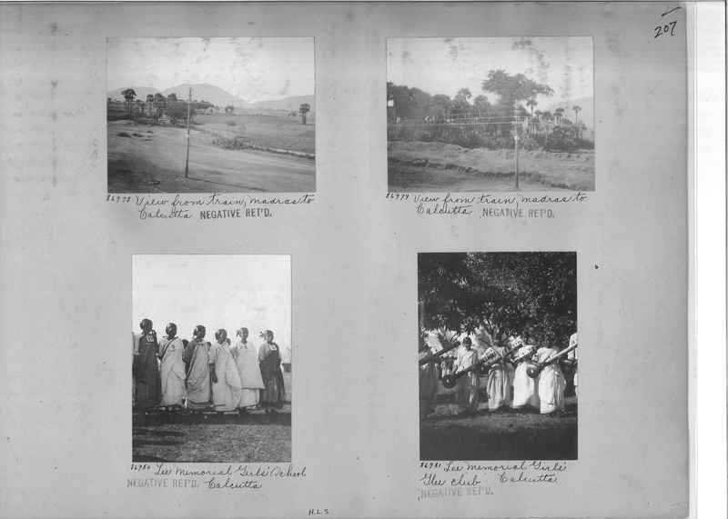 Mission Photograph Album - India #09 Page 0207