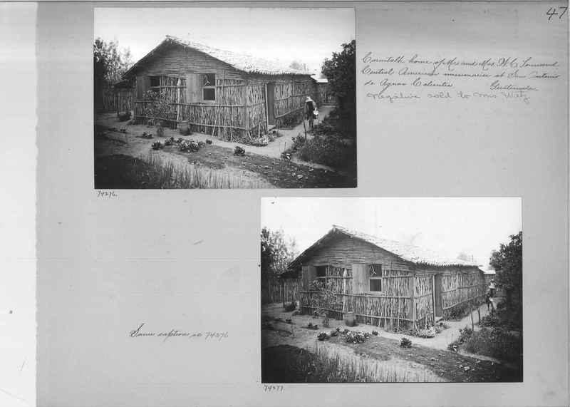 Mission Photograph Album - Panama #03 page 0047
