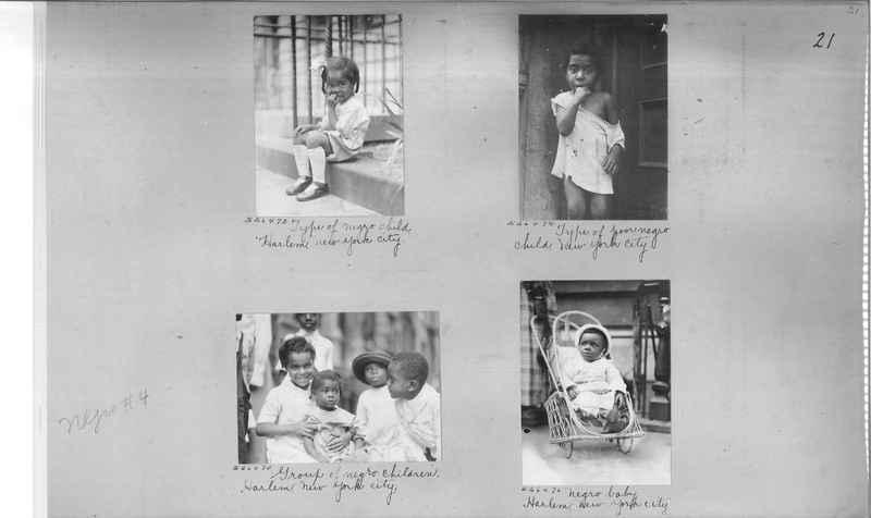 Mission Photograph Album - Negro #4 page 0021