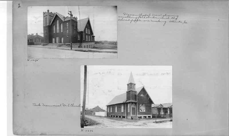 Mission Photograph Album - Negro #2 page 0002