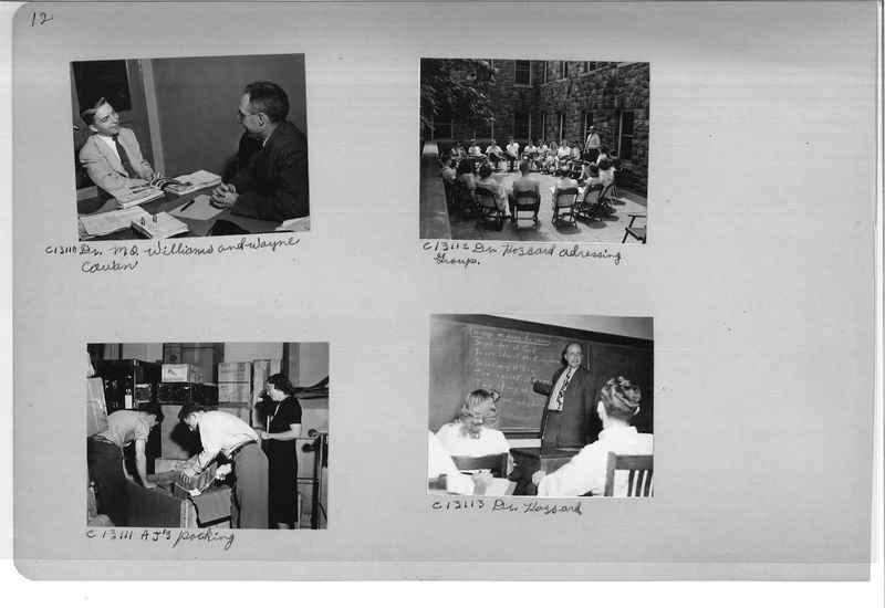 Mission Photograph Album - Portraits #13 Page 0012