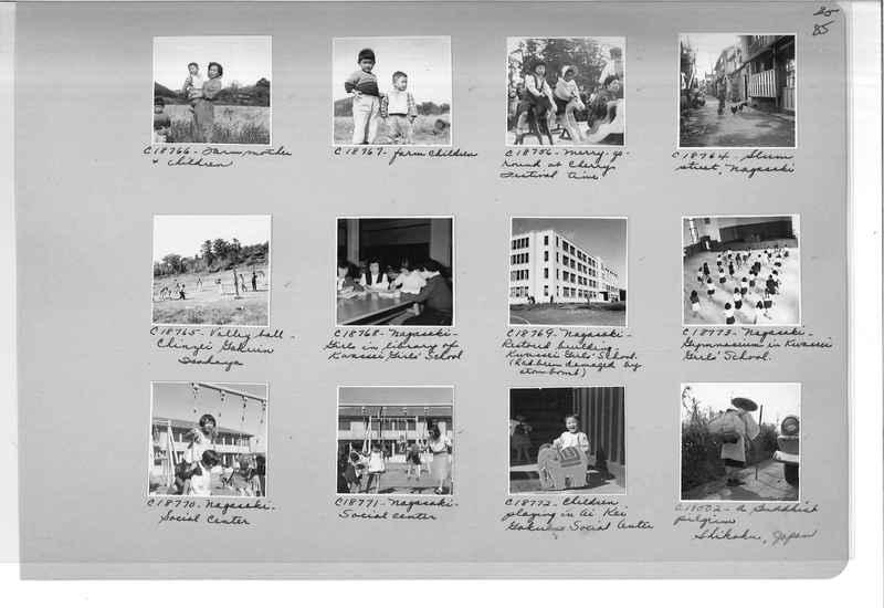 Mission Photograph Album - Japan #07 Page 0085