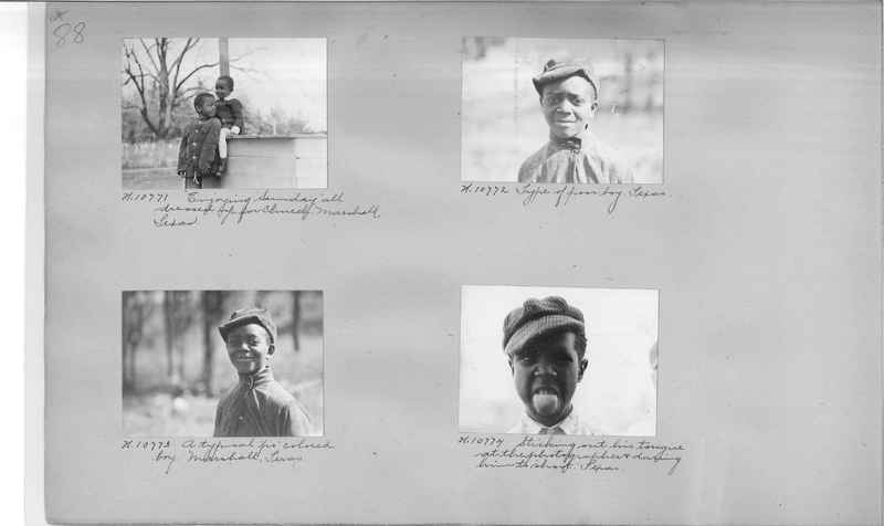 Mission Photograph Album - Negro #1 page 0088