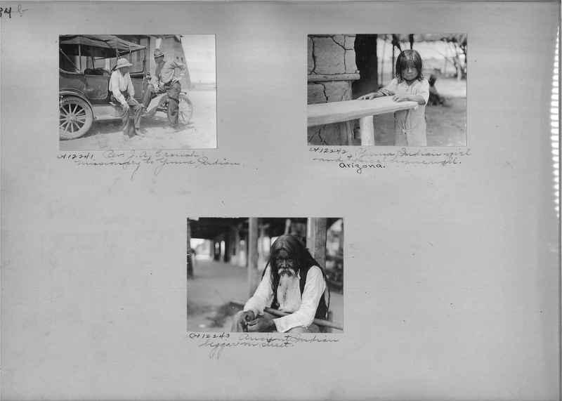 Mission Photograph Albums - Indians #1 page 0184
