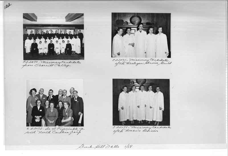Mission Photograph Album - Portraits #10 Page 0122