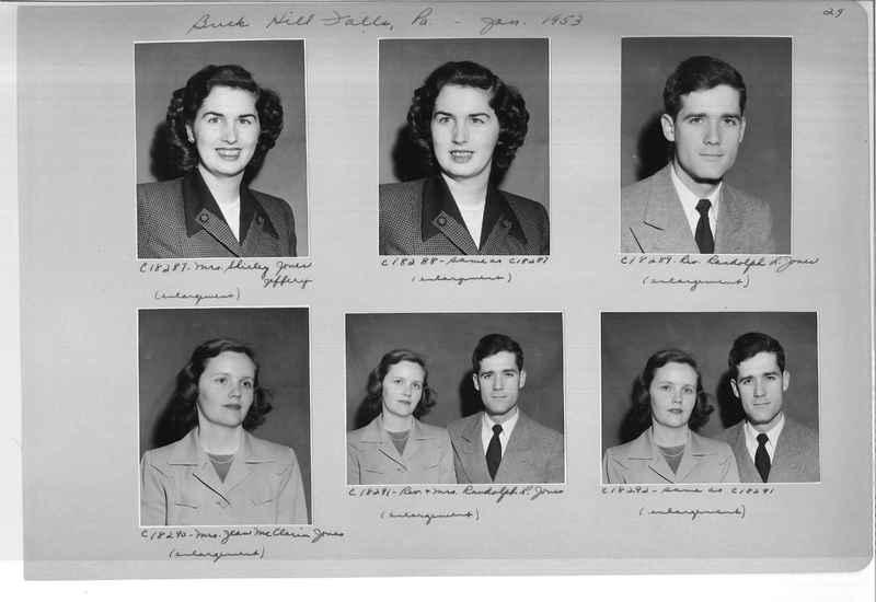 Mission Photograph Album - Portraits #08 Page 0029