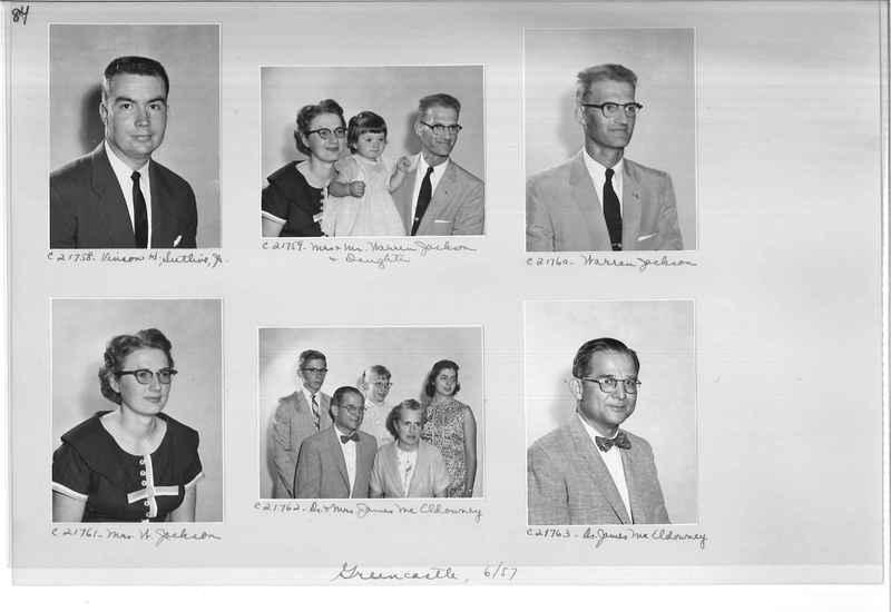 Mission Photograph Album - Portraits #10 Page 0084